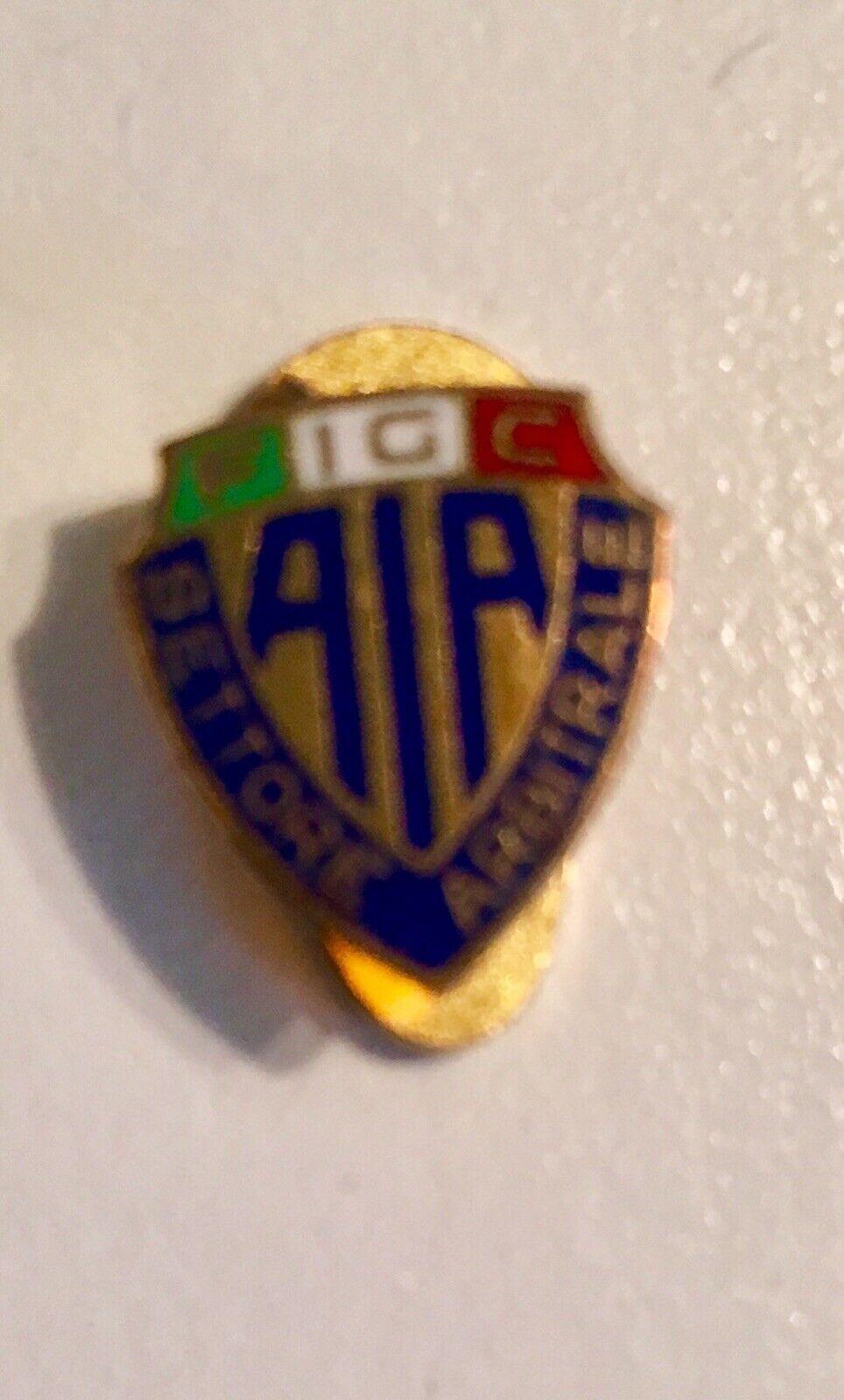 Spilla Pin Arbitro Calcio  AIA Referee