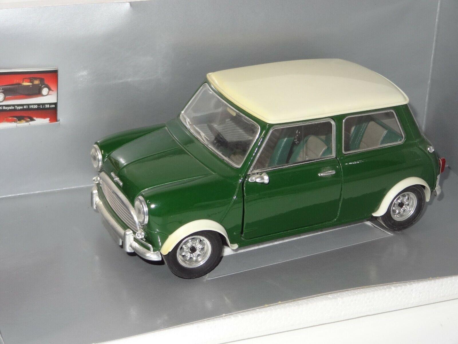 (W) SOLIDO 1 18 1964 Mini Cooper S - 8021 Comme neuf boxed