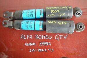 AMMORTIZZATORE POSTERIORE DX E SX  ALFA ROMEO GTV 2.0 BENZINA 1994 ORIGINALI