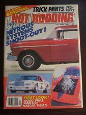 Popular Hot Rodding Magazine April 1981 Nitrous System Shoot Out No Label (AA)