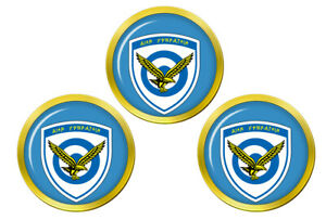 Hellenique-Air-Force-Grece-Marqueurs-de-Balles-de-Golf