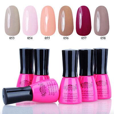 Any 6pcs Soak off Gel 8ml UV Gel Nail Polish Nail Art Lacquer Manicure Nail DIY