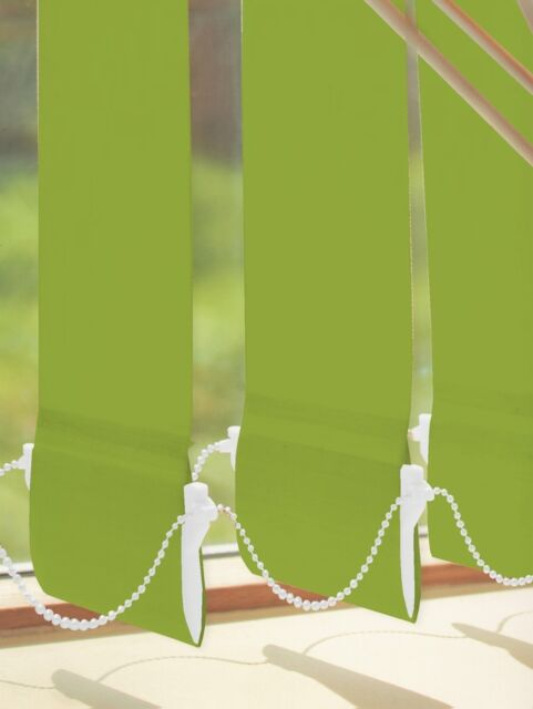 Premium Quality LIME KIWI GREEN Vertical Blinds Made to Measure 89mm New