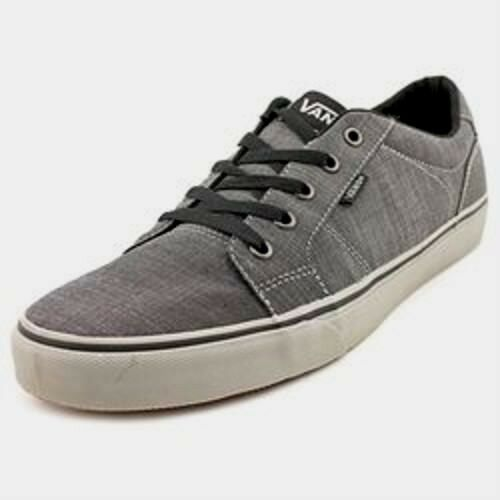 77ebfa3a270939 Buy Men s VANS Bishop Black Gray Causal SNEAKERS Everyday Laces Size 7m  online