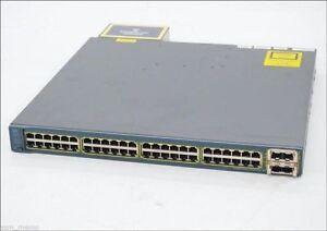Cisco-WS-C3560E-48PD-SF-48-Port-Gigabit-Layer-3-POE-Switch-2x-TenGig-Uplinks