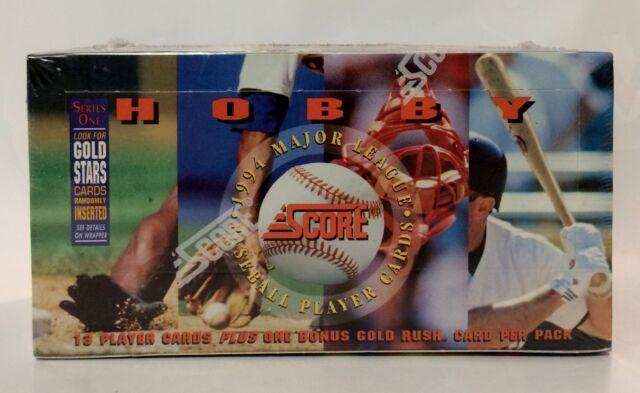 1994 Score series 1 Baseball card box 36 packs (factory sealed)
