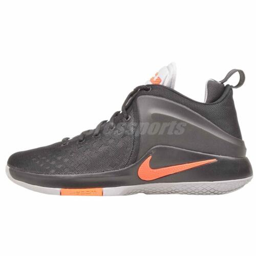 Hot Nike Zoom Witness Basketball Mens Shoes Black Grey 852439-006