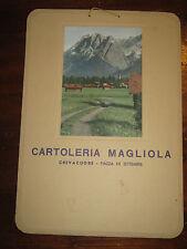PUBBLICITA' CARTOLERIA MAGLIOLA CREVACUORE (BIELLA) PIAZZA XX SETTEMBRE