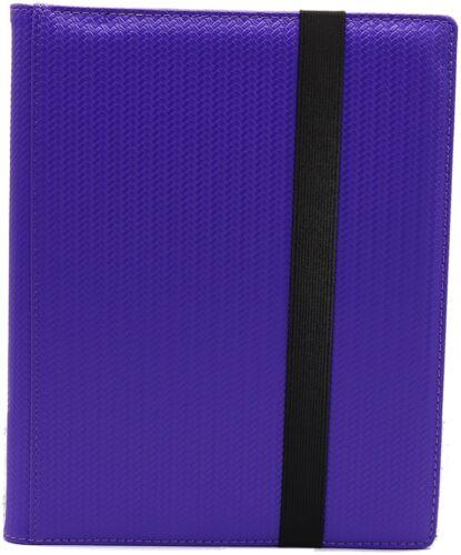 Purple DEX Protection BRAND NEW DEX Binder 9 Pocket Portfolio Limited Edtion
