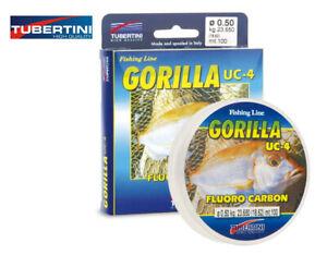 Fishing-Line-Tubertini-Fluorocarbon-Gorilla-UC4-100m-0-12mm-0-50mm
