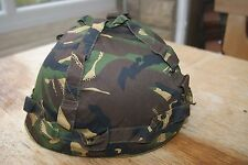 Child's Kid's British Army Style Camo Camouflage Military Para Helmet & Cover