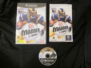 GC : MADDEN 2003 - Completo ! Gamecube