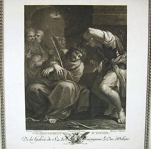 Louis-Carracci-Coronation-D-039-Spines-Engraving-C-Guerin-Ed-J-Layer-1786-Biblical