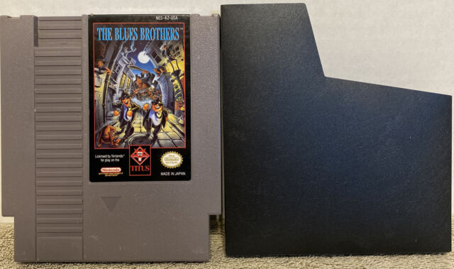 Blues Brothers (Nintendo Entertainment System NES) Cart Only w/ Sleeve Tested