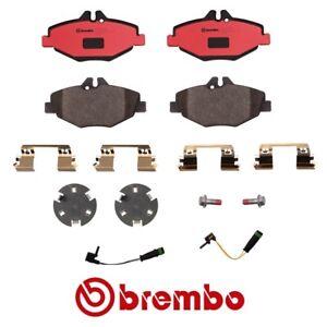 Brembo Front Disc Brake Pad Set Sensor For Mercedes e320 Base e320 Bluetec CDI
