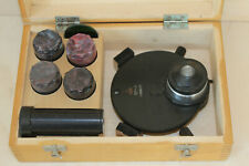 Lomo Microscope Phase Contrast Kf4 Set Objectives Rms Thread