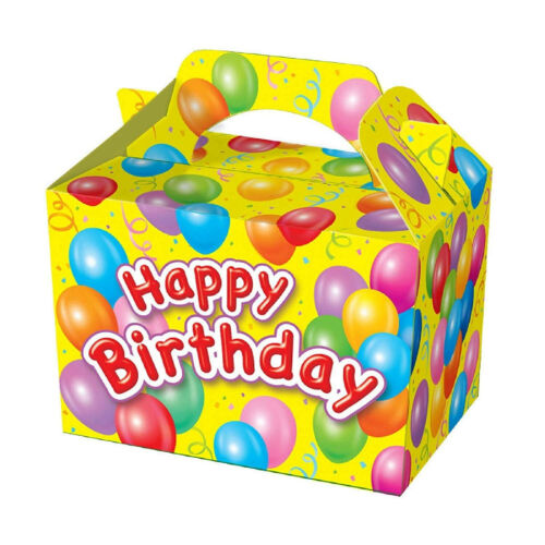 SUPER COOL KIDS PARTY BOXES HAPPY BIRTHDAY design 15 Boxes