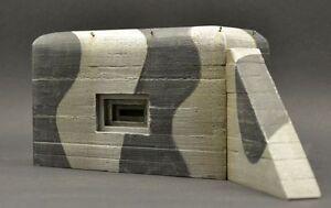 DioDump-DD095-German-MG-bunker-1-35-scale-diorama-building-ww2