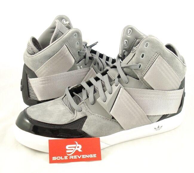 Neue adidas originals c - 10 schwarze holzkohle grau - weißen schuhe c76051 c10