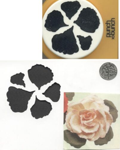 S Giant BEGONIA PETALS Paper Punch x Punch Bunch Scrapbook-Cardmaking-Quilling