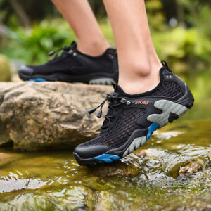 Breathable Outdoor Hiking Shoe Water Shoes Men's Mesh TiuZOPkX