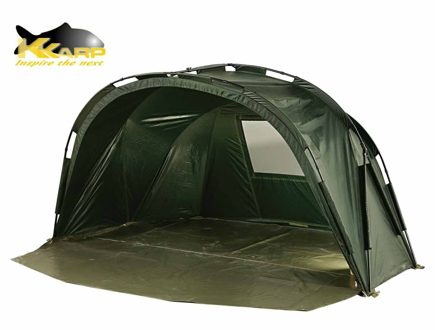 19130170 Tenda Pesca Carpfishing Enemy Dome Due Posti Tessuto HT RN