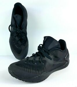 74bba288b4a1 Image is loading Nike-Hyperchase-Basketball-Shoes-705363-003-Black-Size-