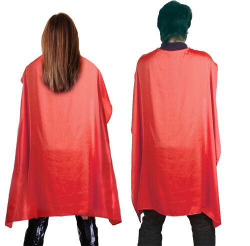 Adult unisex Fancy Deluxe Satin Cape Halloween Dress Party Wear Supplies