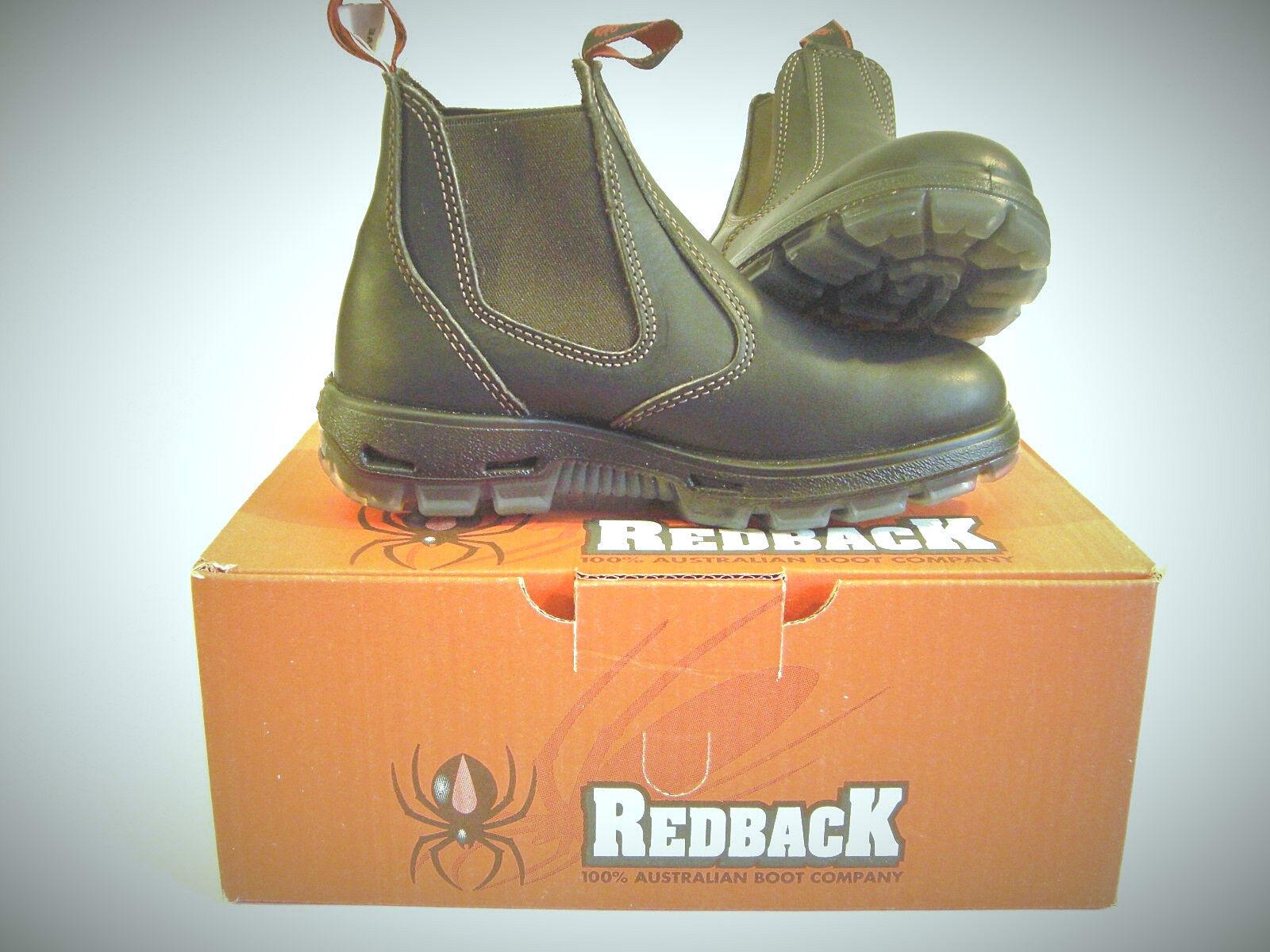 AUSTRALIANA rojoback botas botines botas de trabajo comididad ubok Marrón Marrón Marrón 02b82b