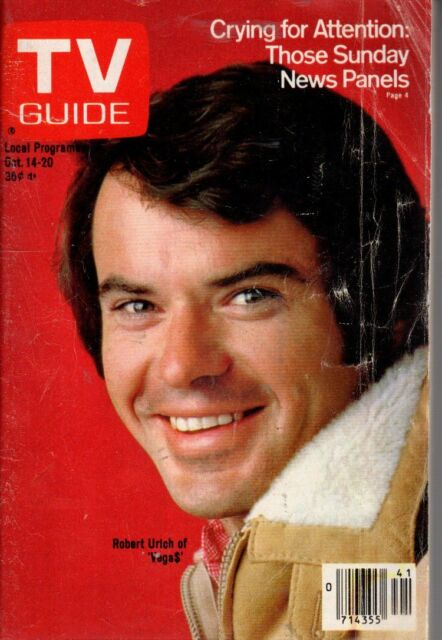1978 TV Guide October 14-Robert Urich-Vegas; Buck Rogers; Pittsburgh Pirates
