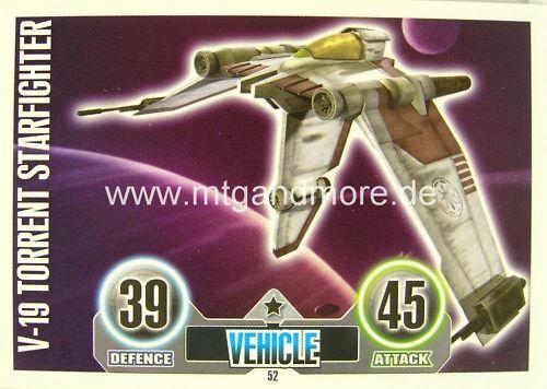 Star wars force attax v-19 torrent starfighter #052