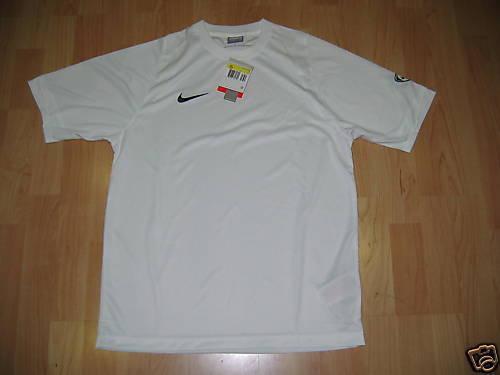 T-SHIRT FOOTBALL NIKE M SHORT white JERSEY M