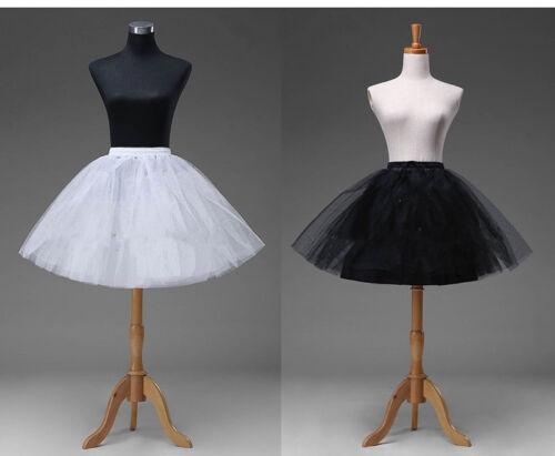 Short Petticoat Crinoline Underskirt Tutu Bridal Wedding Dress Skirt Slips 2018