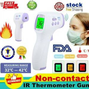Non-Contact-Infrared-Digital-Forehead-Thermometer-Baby-Adult-Temperature-Gun-USA