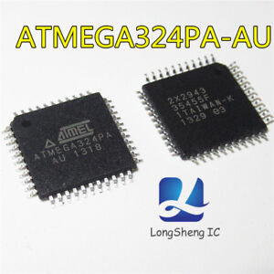 5PCS-Atmega-324PA-AU-IC-MCU-8BIT-32-Kb-Flash-44-TQFP-nuevo-fruto-Calidad-Q2-Nuevo