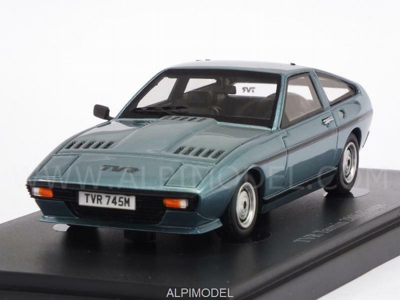 TVR Tasmin 280i Coupe 1980 Light bleu Metallic 1 43 AUTO CULT 02010