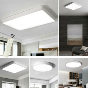 Details zu LED Deckenleuchte Modern Wandlampe Deckenlampe Küche Wohnzimmer  Flurleuchte Weiß