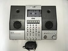 KORG CR-4 MULTITRACK STEREO CASSETTE TAPE DECK-RECORDER CR4 includes ac adapter