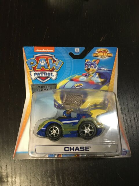 Paw Patrol PAT PATROUILLE True Metal Chase mighty pups