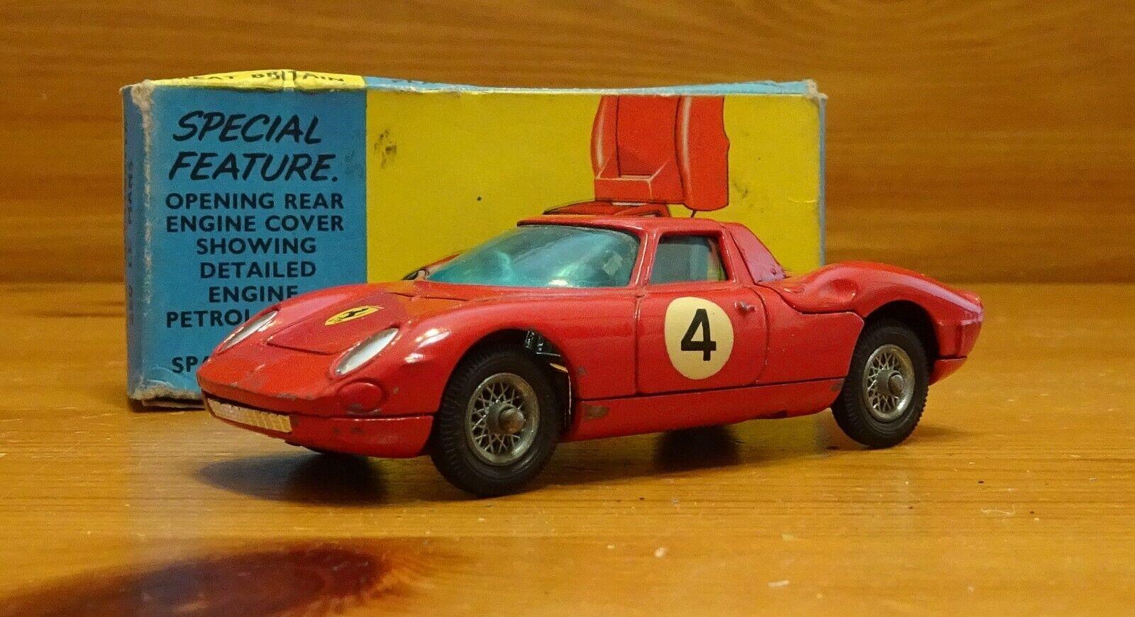 Corgi 314 Ferrari Berlinetta' ' 250 Le Mans Modelo Original Y Caja (CT055)