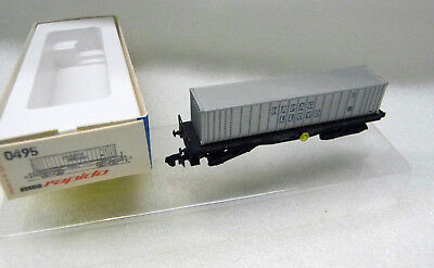 0495 Arnold N Carro Merci Hapag Lloyd Carrello Carrello Ovp 1:160 Ferrovia Train-en Ovp 1:160 Eisenbahn Train It-it Mostra Il Titolo Originale Lussuoso Nel Design