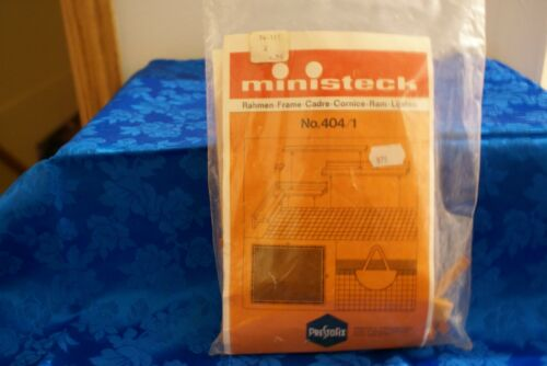 404//1 MINISTECK German Plastic Picture Making Kit Frame Only No