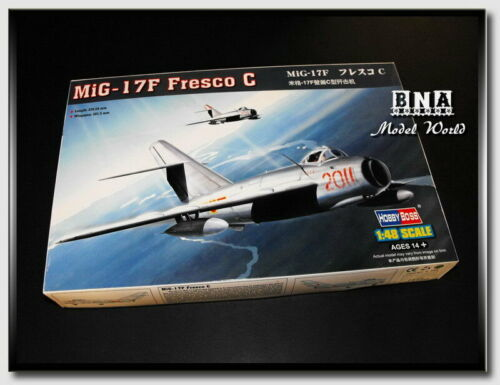 HobbyBoss Model kit 80334 1//48 Mikoyan-Gurevich MiG-17F Fresco C #80334