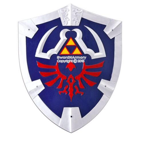 Full Size Link Master Twilight Princess Hylian Zelda Shield with Grip /& Handle