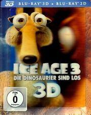 ICE AGE 3: Die Dinosaurier sind los (Blu-ray 3D + Blu-ray Disc) Steelbook, Lent.