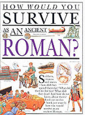 Very Good Ganeri, Anita, Roman (How Would You Survive), Hardcover, Book