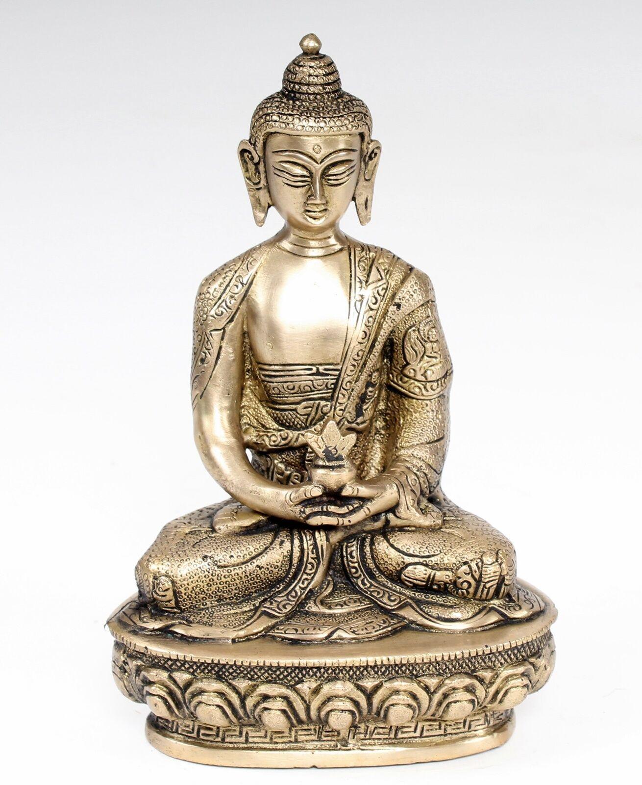 AMITHABA Bouddha 20,5 cm de haut * Himalaya Bouddha Bouddha Himalaya yoga méditation Bouddhisme c15a5a