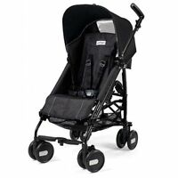 Peg Perego Pliko Mini Onyx Lightweight, Umbrella Single Seat Stroller Strollers