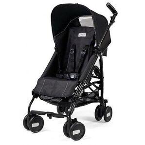 Peg Perego Pliko Mini Onyx Lightweight, Umbrella Single Seat Stroller
