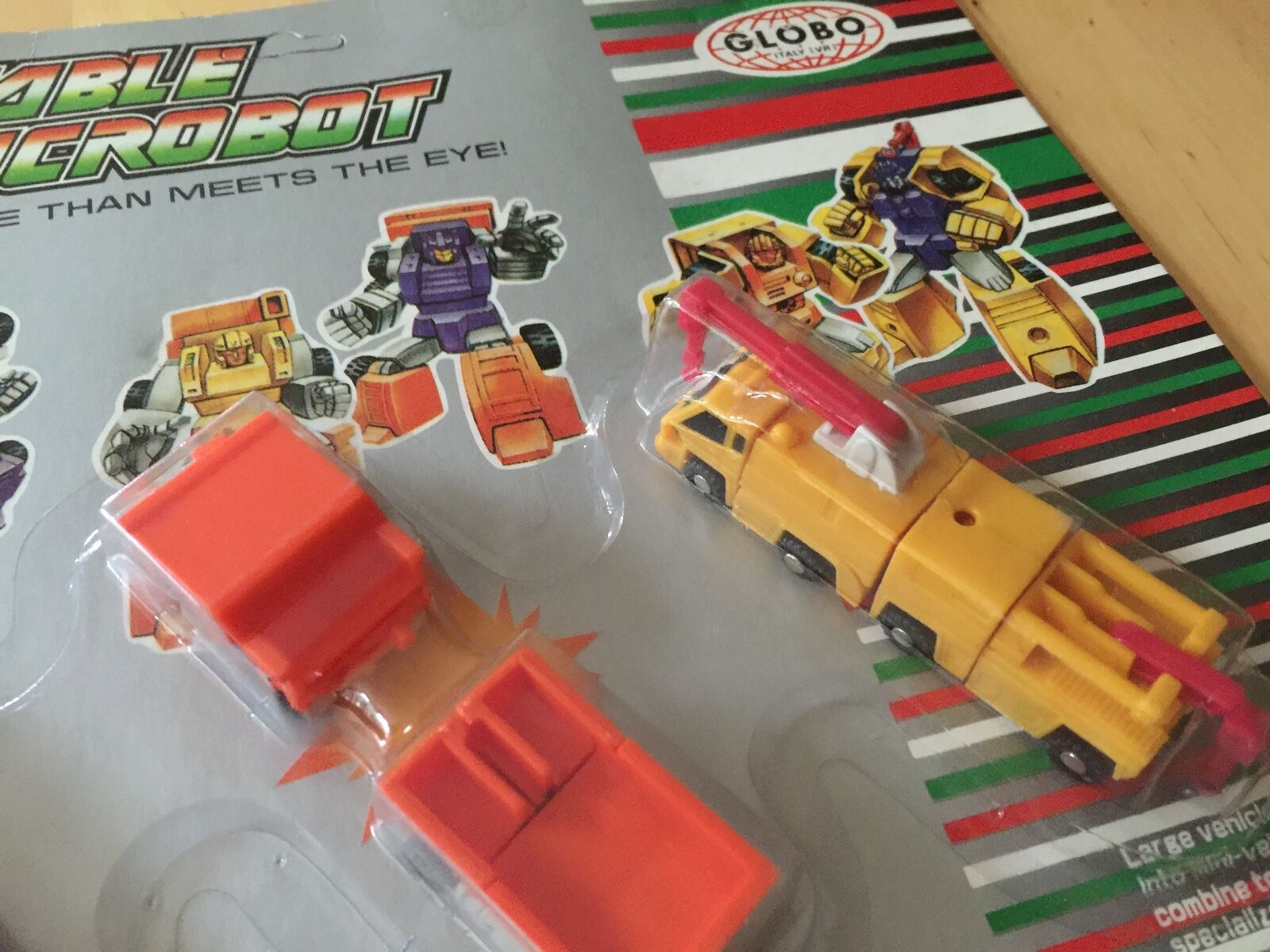 Transformers G1 G1 G1 CONSTRUCTOR SQUAD KO (ITALY) combinable micromaster MOSC a9779c